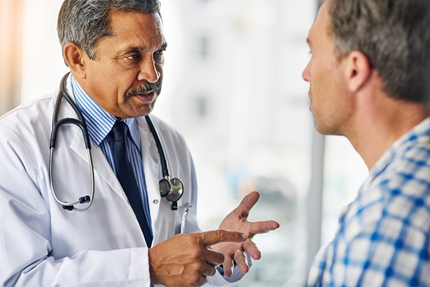 Man with Physician