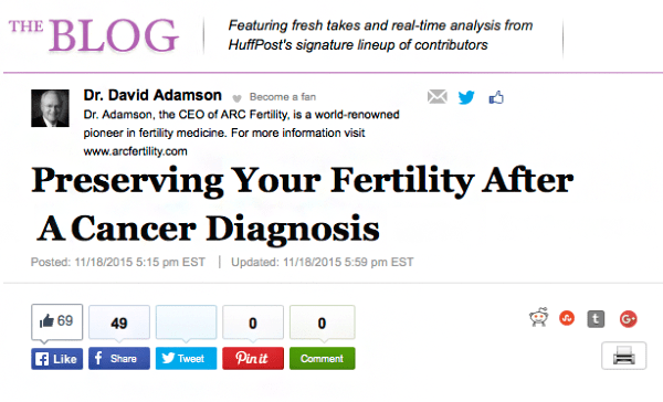Preserving Your Fertility After a Cancer Diagnosis