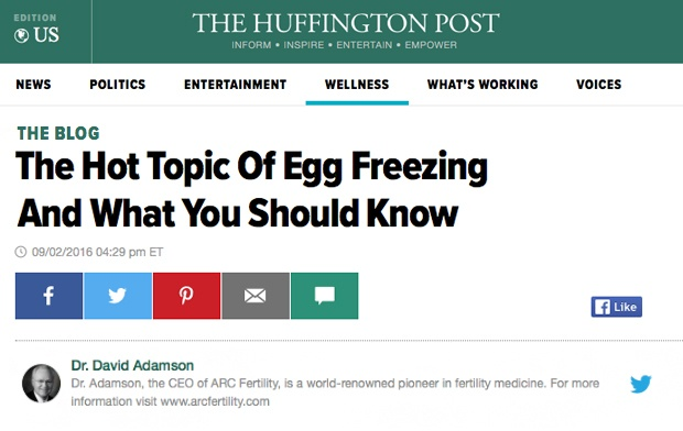 The Hot Topic Of Egg Freezing And What You Should Know