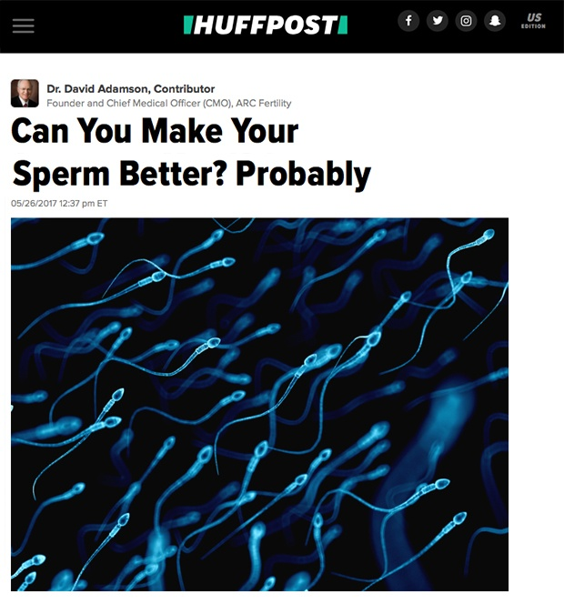Can You Make Your Sperm Better? Probably