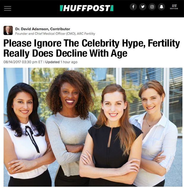 Please Ignore The Celebrity Hype, Fertility Really Does Decline With Age