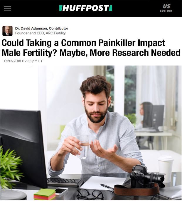 Could Taking a Common Painkiller Impact Male Fertility? Maybe, More Research Needed