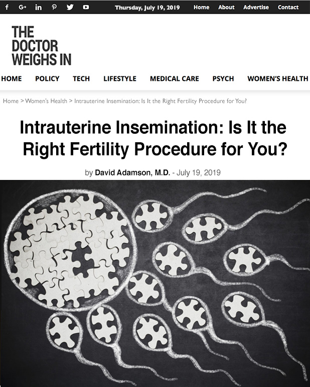Intrauterine Insemination: Is It the Right Fertility Procedure for You?