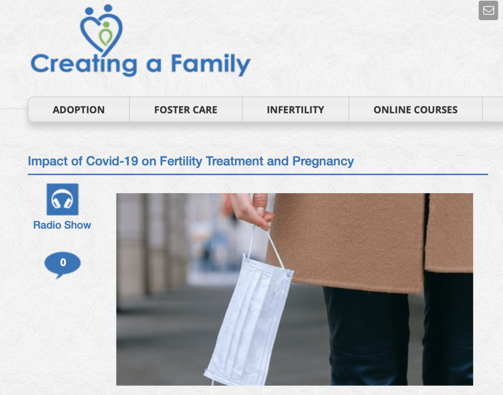 Impact of Covid-19 on Fertility Treatment and Pregnancy